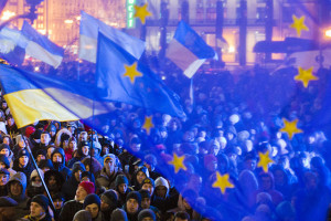 Der Euromaidan in Kiew am 27. November 2013